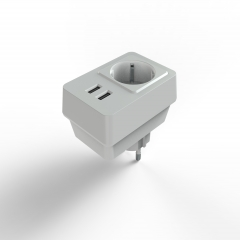 AC socket with USB Charger
